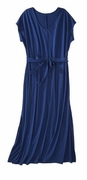 SALE! Black or Royal Blue Plus Size Short Sleeve V Neck Maxi Dress 3x 4x