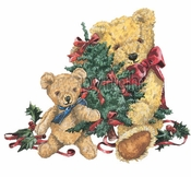 FINAL SALE! Christmas Teddy Bears Plus Size & Supersize T-Shirts 5x