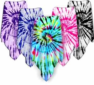 NEW! Colorful - Poly/Cotton - Velvet - or Slinky - Tie Dye Plus Size Supersize Ponchos