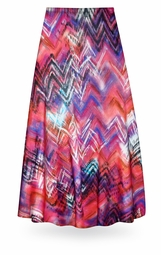NEW! Customizable Colored Pencil Slinky Print Special Order Plus Size & Supersize Pants, Capri's, Palazzos or Skirts! Lg to 9x