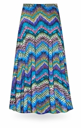 NEW! Customizable Dazzling Chevrons Slinky Print Special Order Plus Size & Supersize Pants, Capri's, Palazzos or Skirts! Lg to 9x