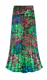 SALE! Customizable Jungle Slinky Print Plus Size & Supersize Skirts - Sizes Lg to 9x