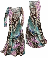 NEW! Customizable Purple Snakeskin Animalskin Print Slinky Plus Size & Supersize Standard or Cascading A-Line or Princess Cut Dresses & Shirts, Jackets, Pants, Palazzo's or Skirts Lg to 9x