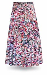 NEW! Customizable Watercolor Fantasy Slinky Print Special Order Plus Size & Supersize Pants, Capri's, Palazzos or Skirts! Lg to 9x