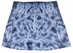 NEW! Dark Blue & White Or Brown, Red, Yellow Tie Dye Plus Size Skirts 3x 4x