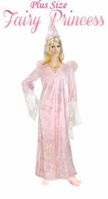 NEW! Fairy Princess Pink Plus Size Supersize Halloween Costume + Add Accessories! Sizes Lg to 9x