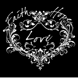 NEW! Faith Hope Love Vines Plus Size & Supersize T-Shirts S M L XL 2x 3x 4x 5x 6x 7x 8x 9x (Dark Colors Only)