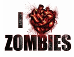 I Heart Zombies Plus Size & Supersize T-Shirts S M L XL 2x 3x 4x 5x 6x 7x 8x (Most Colors)