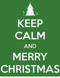 SALE! Keep Calm and Merry Christmas Plus Size & Supersize T-Shirts Small to 8x (All Colors)