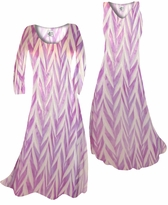 Customize Opalescent Purple Zebra Slinky Print  Plus Size & Supersize Standard or Cascading A-Line or Princess Cut Dresses & Shirts, Jackets, Pants, Palazzo's or Skirts Lg to 9x