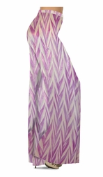 Customize Opalescent Purple Zebra Slinky Print Special Order Plus Size & Supersize Pants, Capri's, Palazzos or Skirts! Lg to 9x