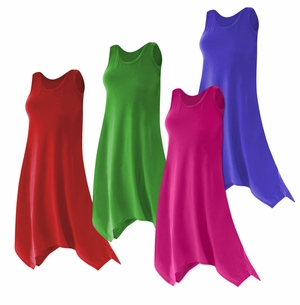 Sharktail Hem Poly Cotton Jersey Plus Size Swimsuit Cover Up Dresses & Shirts Supersize 0x 1x 2x 3x 4x 5x 6x 7x 8x 9x Customizable!