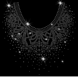 NEW! Pretty Flowery Neckline Sparkly Rhinestuds Plus Size & Supersize T-Shirts S M L XL 2x 3x 4x 5x 6x 7x 8x 9x (All Colors)