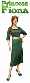 NEW! Princess Fiona Shrek Plus Size Supersize Halloween Costume + Add Accessories! Sizes Lg to 9x