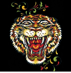 NEW! Roaring Tiger Head Tattoo Plus Size & Supersize T-Shirts S M L XL 2x 3x 4x 5x 6x 7x 8x 9x (All Colors)