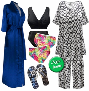 <font size=4 Color=green>New Sleepwear  Intimates & Shoes!