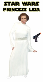 NEW! Star Wars Princess Leia Plus Size And Supersize Halloween Costume + Add Accessories! Sizes Lg to 9x