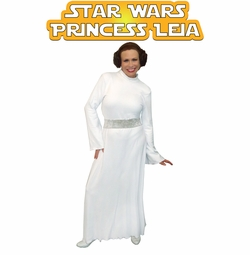 SALE! Star Wars Princess Leia Plus Size And Supersize Halloween Costume Sizes Lg to 9x