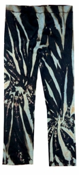 SOLD OUT! Tie Dye Black and Grey Green Regular Length Plus Size Sweat Pants