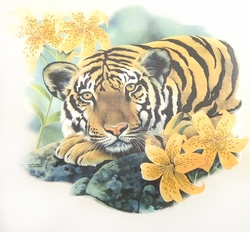 NEW! Tiger & Lillies  Plus Size & Supersize T-Shirts S M L XL 2x 3x 4x 5x 6x 7x 8x (Lights Only)