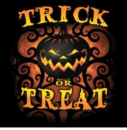 Trick Or Treat Pumpkin Plus Size & Supersize T-Shirts S M L XL 2x 3x 4x 5x 6x 7x 8x (All Colors)