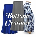 Bottoms on CLEARANCE!