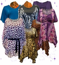 Tops, Blouses & Tunics<br>Plus Size & Supersize 0x to 9x