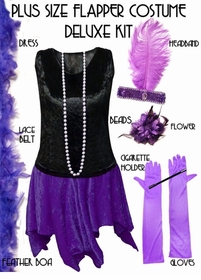 Plus Size Flapper Costumes Starting at Just $44.99!