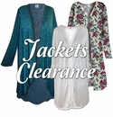 Jackets & Sweaters on CLEARANCE!