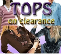 PLUS SIZE TOPS on CLEARANCE!