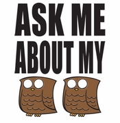 SALE! Ask Me About My Owl Hooters Plus Size & Supersize T-Shirts S M L XL 2xl 3xl 4x 5x 6x 7x 8x (Lights Only)