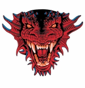 SALE! Awesome Dragon Head Plus Size & Supersize T-Shirts S M L XL 2x 3x 4x 5x 6x 7x 8x (Lights Only)