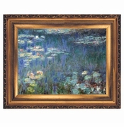 SALE! Beautiful Waterlilies Painting Plus Size & Supersize T-Shirts S M L XL 2x 3x 4x 5x 6x 7x 8x (Lights Only)