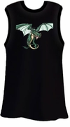 SOLD OUT! Wings & Dragon Black Plus Size Tank Top 2x 3x 4x