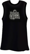 SALE! Sparkly Drama Queen Black Plus Size Tank Top 2x 3x 4x