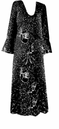 SALE!!! Black & Silver Glittery Plus Size & Supersize Dress - Jacket Sizes 4X 8X
