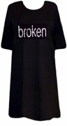 SALE! Broken Plus Size & Supersize T-Shirts S M L XL 2x 3x 4x 5x 6x 7x 8x