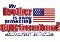 """SALE! """"Choose Your Relative"""" - Away Protecting Our Freedom Plus Size & Supersize T-Shirts S M L XL 2xl 3xl 4x 5x 6x 7x 8x Brother Daughter Husband Grandson Dad Son"""