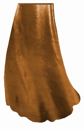 SALE! Copper Metallic Slinky Print Special Order Plus Size & Supersize Tapered Pants & Skirt  3x
