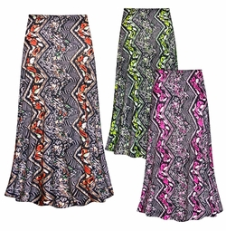 SALE! Customizable Safari Slinky Print Plus Size & Supersize Skirts - Sizes Lg to 9x