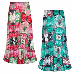 SALE! Customizable Tango Slinky Print Plus Size & Supersize Skirts - Sizes Lg to 9x