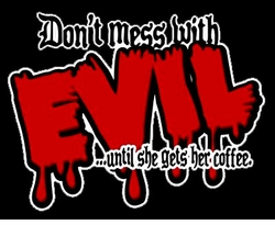 SALE! Don't Mess with Evil Plus Size & Supersize T-Shirts S M L XL 2x 3x 4x 5x 6x 7x 8x