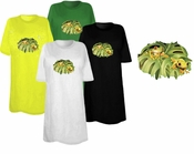 SOLD OUT! Frogs Print Plus Size & Supersize T-Shirts