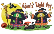 SALE! Ghouls' Night Out Halloween Plus Size & Supersize T-Shirts S M L XL 2x 3x 4x 5x 6x 7x 8x