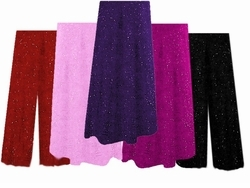 SALE! Gorgeous Plus Size & Supersize Glimmer Sweater Pants & A-Line Skirts Lg 1x 5x 6x - Purple - Gray - Pink