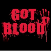 SALE! Got Blood Plus Size Supersize S M L XL 2x 3x 4x 5x 6x 7x 8x T-Shirts