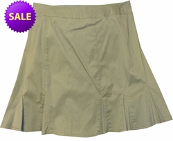 SALE! Khaki Green Plus Size Miniskirt 1x/20W
