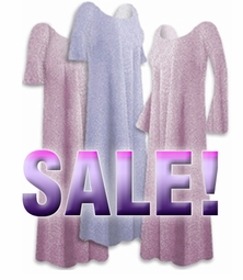 SALE! Lavender & Lavender! Glimmer Plus Size & Supersize Shirt,Pants 2x 4x