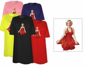 SALE! Marilyn Monroe Red Dress Plus Size & Supersize T-Shirts 4xl 3x