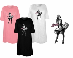 CLEARANCE! Marilyn Monroe White Dress Plus Size & Supersize T-Shirts  xl